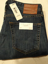 NWT AG Adriano Goldschmied Nomad Modern Slim Fit Mens Dark Jeans Size 33x34 $188