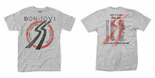 OFFICIAL BON JOVI Slippery When Wet Euro Tour 1986 T-shirt 2-Sided NEW All Sizes