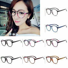 Hot Vintage Retro Fashion Women's Glasses Round Anti fatigue Clear Lens Eyewear