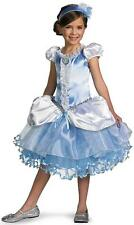 Cinderella Tutu Prestige Disney Princess Fancy Dress Up Halloween Child Costume