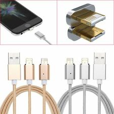 2-in-1 Micro USB/8-Pin Magnetic Adapter Charging Cable For iPhone Samsung HTC LG