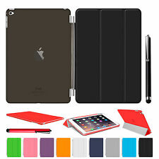 Magnetic Leather Slim Smart Case Hard Back Cover For Apple iPad Air 2 3 4 mini