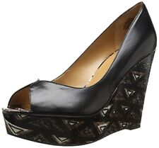 Nine West Women's Audora Leather Wedge Pump - Choose SZ/Color