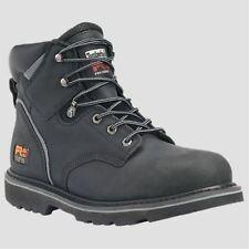 "Timberland PRO Boots Mens Pit Boss 6"" Steel Toe Black Work Boot 33032"