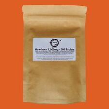 Hawthorn Berry 1000mg Tablets High Strength Extract IBS CIRCULATION