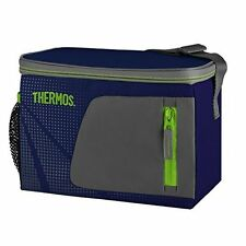 Cooler Bag Insulated Box Picnic Camping Food Storage Lunch 6 Can Cool Bag Navy