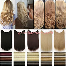Thick 100g Hairpiece Clip in Full Head Clip in Hair Extensions Human love snw10