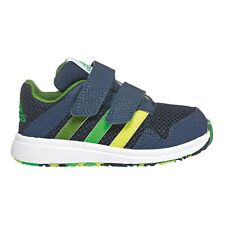adidas Snice 4-CF INFANT BOY'S SHOES, BLUE/GREEN*German Brand- Size US 4, 5 Or 6