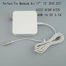 "45w AC Power Adapter Charger For Macbook Air 11"" 13"" 2010 2011 A1237 A1369 A1370"
