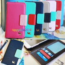 New Wallet Card Holder PU Leather Durable Flip Pouch Case Cover For iPhone 7 7S