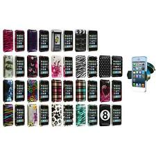 For iPhone 3G S 3GS Design Hard Snap-On Case Cover Skin Accessory+Car Mount