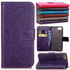 For Apple iPod Touch 6th 5th Gen Hybrid PU Leather Flip Wallet Card Pouch Case