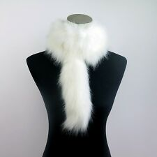 Ladies Winter Warm Scarf Faux Fur Furry Fluffy Collar Soft Shawl Stole Wrap New