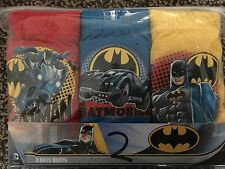 NEW 3 PACK OF BOYS MARVEL BATMAN 100% COTTON BRIEFS - AGE 3-4,5-6,7-8 YRS