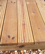 GARDEN DECKING KIT, MANY SIZES, TIMBER BOARDS, FRAMING AND SCREWS ALL INCLUDED
