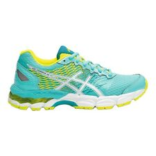 Asics Gel Nimbus-18 BOY'S RUNNING SHOES, BLUE/WHITE/YELLOW - Size US 5, 6 Or 7