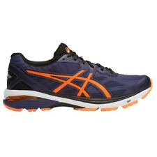 Asics GT 1000-5 MEN'S RUNNING SHOES, NAVY/ORANGE/BLACK - Size US 9.5, 10 Or 11
