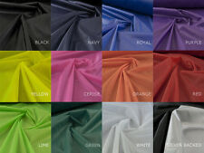 2oz Ripstop Waterproof nylon Lightweight kite fabric from 12 colours - 10 Mts -G