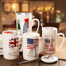 Statue Of Liberty Eiffel Tower Elizabeth Tower Leaning Tower of Pisa Coffee Mug