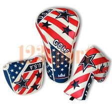 Golf Driver / Mallet / Blade Putter Headcover Cover For Taylormade Callaway Ping