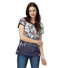 The Collection Womens Navy Floral Print Top From Debenhams
