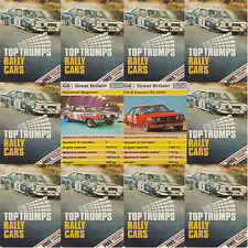 TOP TRUMPS Single Card Dubreq RALLY Cars - VARIOUS