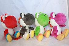 Super Mario Bros Yoshi Plush Stuffed Doll Collection Green Purple Red Black NEW