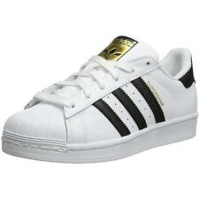 Adidas Originals Superstar Youth White/Black Leather Trainers