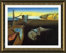 Alonline Art - FRAMED Poster The Persistence Of Memory Melting Clock Salvador