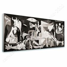 Alonline Art - READY TO HANG CANVAS Guernica Pablo Picasso Giclee Framed Art