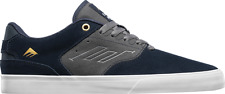 Emerica The Reynolds Low Vulc Skate Shoes in Navy/Grey MSRP$60