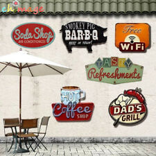 Special shade Vintage metal Sign plaque Bar pub home Cafe Restaurant Wall Deor