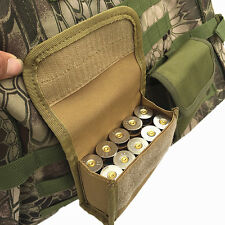 Military Outdoor Tactical Ammo Shell Bullet Case Airsoft Pouch Hunting Waist Bag