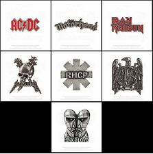 Alchemy Rocks Band Pewter Music Band Logo Badge Lapel Pin Official Merchandise