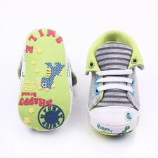 Anti-Slip Baby High Shoes Soft Cartoon Printed Soles for Newborn 0-18 Months