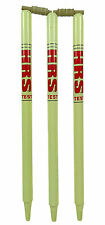HRS Test Full Size Wooden Cricket Wickets Stumps With Bails- Half Set & Full set