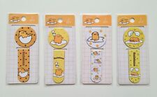 Gudetama Egg magnetic page markers paperclips paper clips set of 2