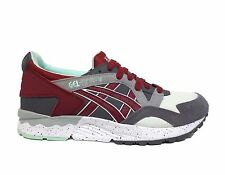 ASICS Men's GEL-LYTE V Running Shoes Carbon/Ot Red H7Q2N-9726 b