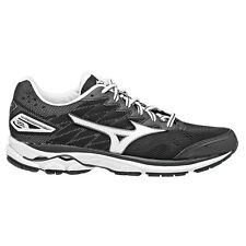 Mizuno Wave Rider-20 WOMEN'S RUNNING SHOES, BLACK/WHITE - Size US 8, 8.5 Or 9