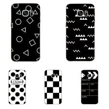 Case For Samsung Galaxy S4 S7 Edge Soft TPU Cell Phone Cover Skins Dots Plaid
