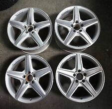 "18"" x 8.5"" 18"" x 9.5"" Mercedes Benz CLS Class AMG Wheels Silver rims 2012 - 2016"