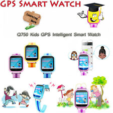 Q750 Kids GPS Smart Watch Telephone Pedometer Smartwatch English Version