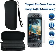 Carry Bag Storage Hard Case Cover Screen Protector Hard Film For Nintendo Switch
