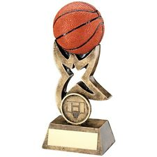 Resin Basketball FULL 3D Trophy in 3 Sizes Free Engraving up to 30 Letters