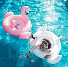Baby Swimming Pool Inflatable Pink Flamingo Swan Swim Float Water Pool Toy NEW