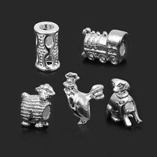HOT 1 X 925 STERLING SILVER MIXED STYLE BEAD TO FIT  EUROPEAN CHARM BRACELET