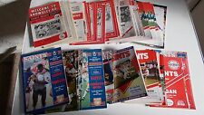 St Helens Rugby League Programmes 1980s and 1990s