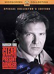 Clear and Present Danger (DVD, 2003, Collector's Edition, Widescreen) *NEW*