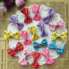 10pcs=5pair Pet dog Hair Clips hair bows pet grooming dog Puppy dogs Hairpins