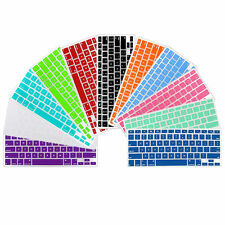 "Silicone Keyboard Cover Skin Shield for New Macbook Model 13"" 15"" 17"" Retina"